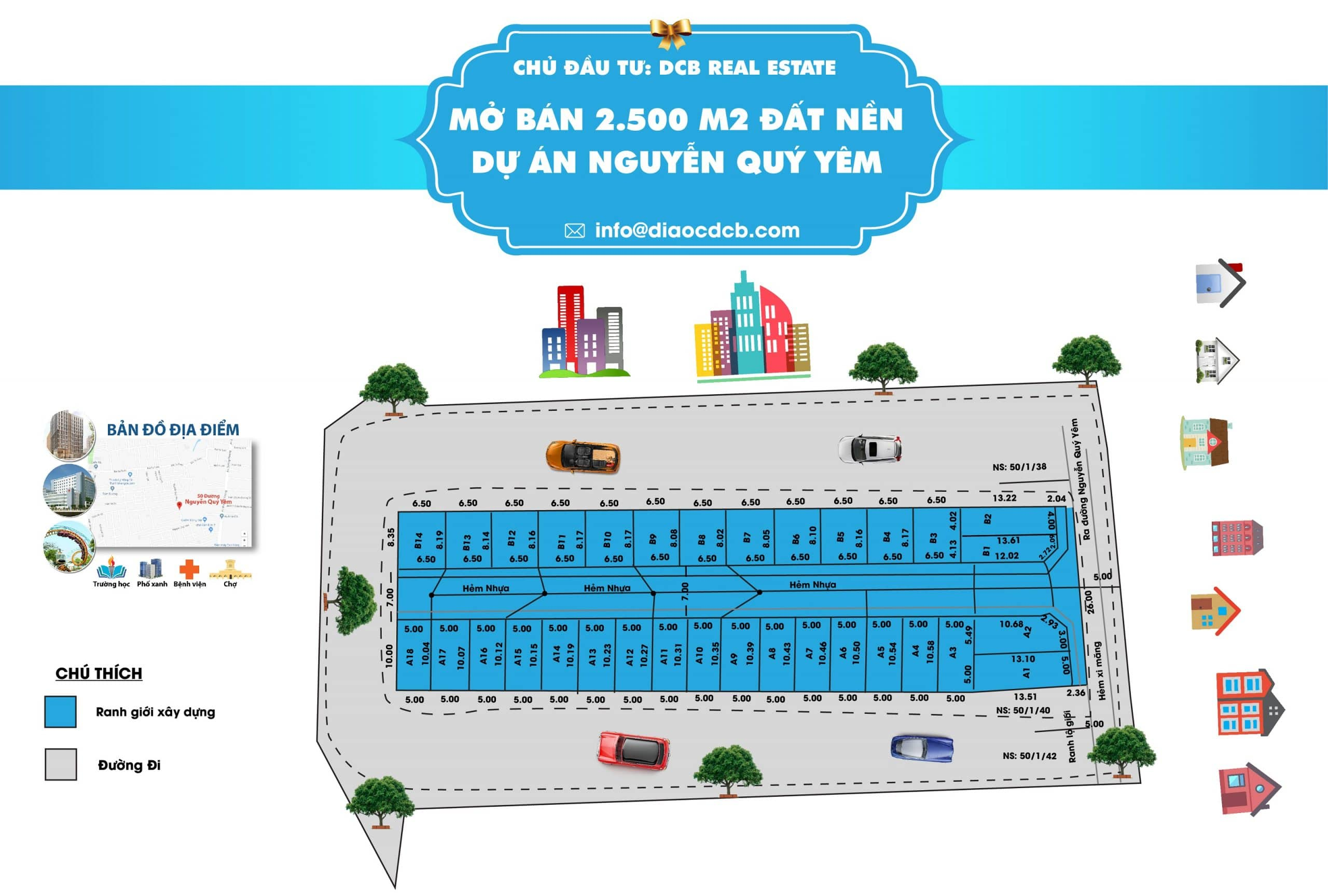 Thiết kế Inforgraphic DCB Real Estate
