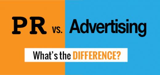 Sự khác biệt giữa Quảng cáo và PR