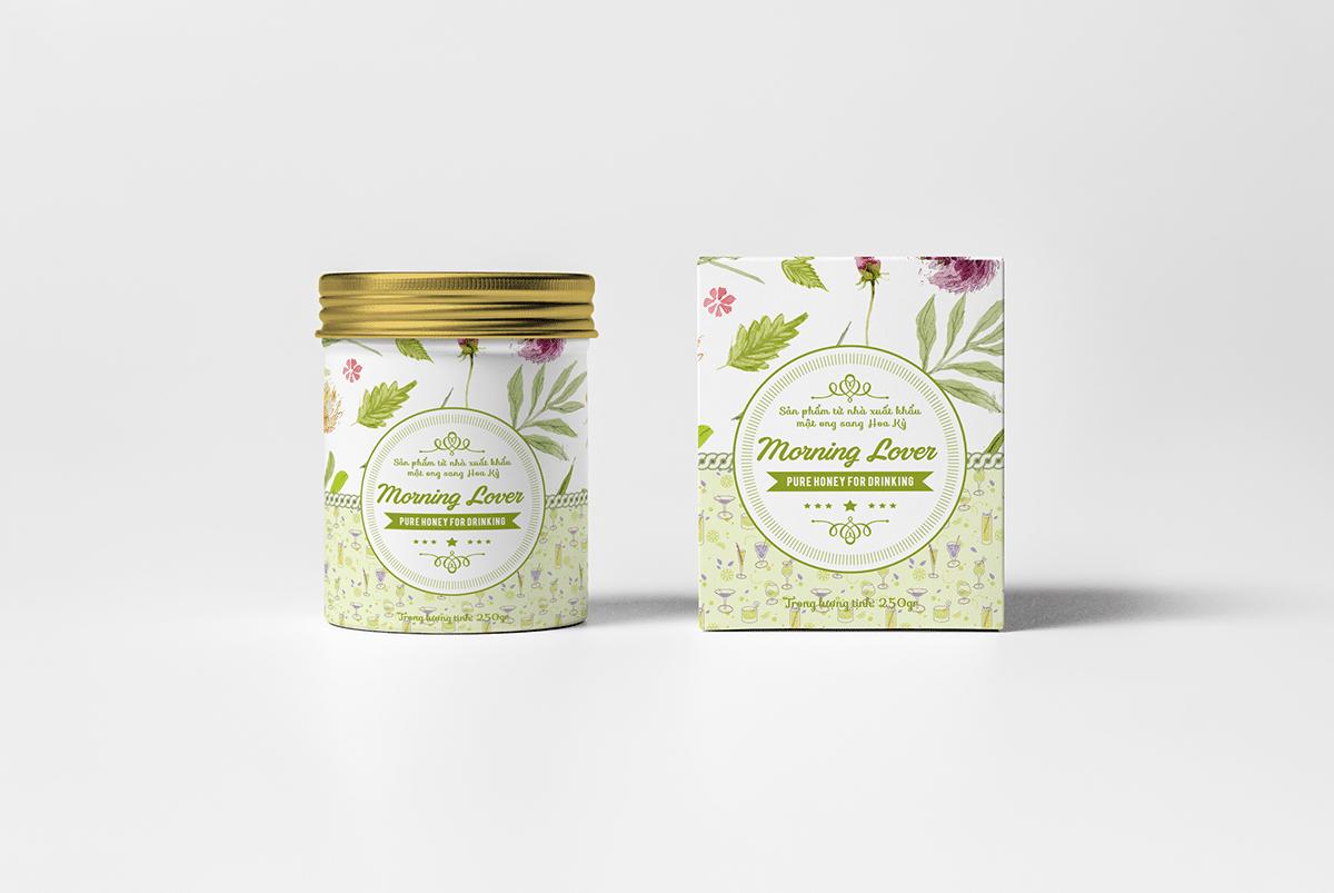 Thiết kế Tem - Nhãn mật ong Bonie Bee
