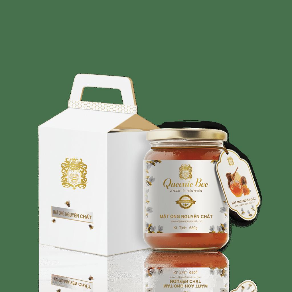 Thiết kế Tem - Nhãn mật ong Queenie Bee