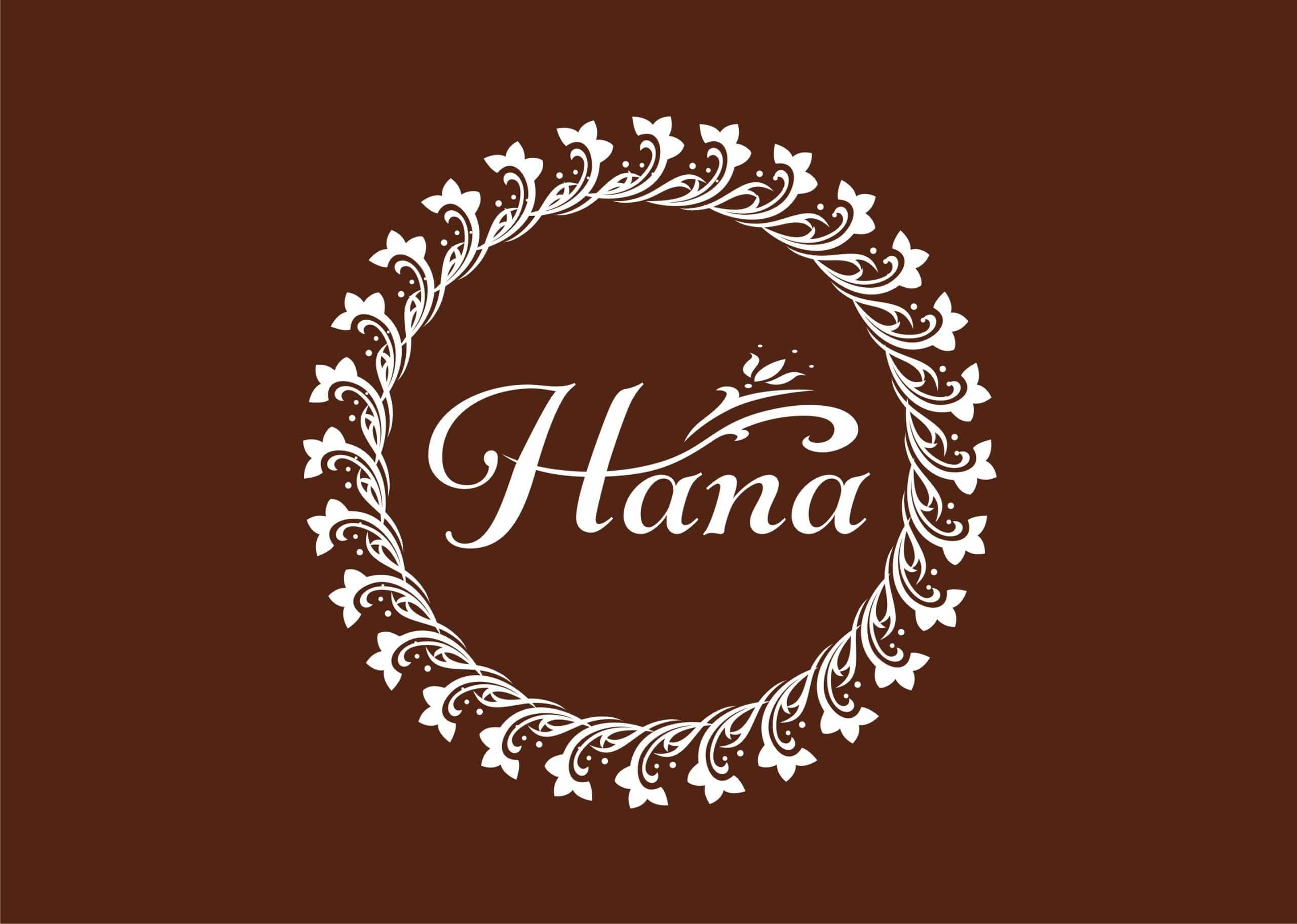 Logo shop quần áo Hana