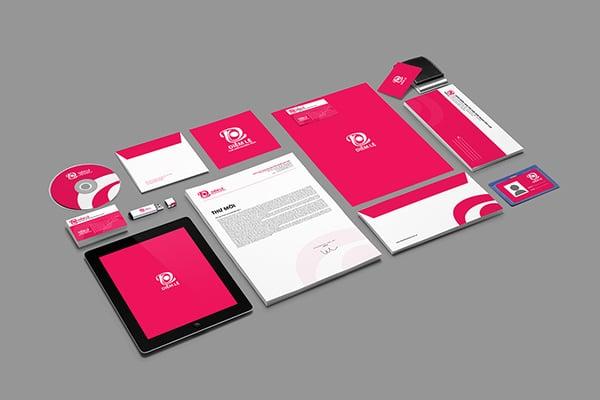 Thiết kế hệ thống nhận diện thương hiệu giá rẻ cho Startup.