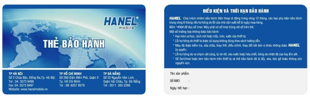 Dịch vụ thiết kế thẻ bảo hành