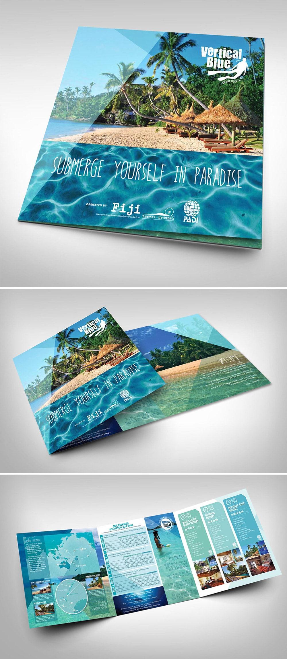Thiết kế brochure du lịch