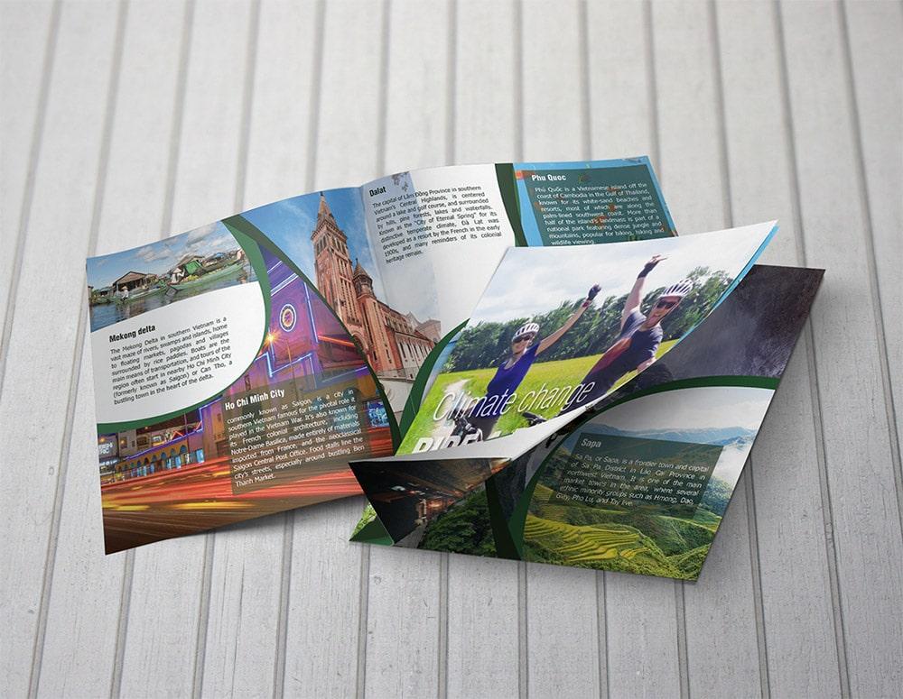 Brochure du lịch đẹp