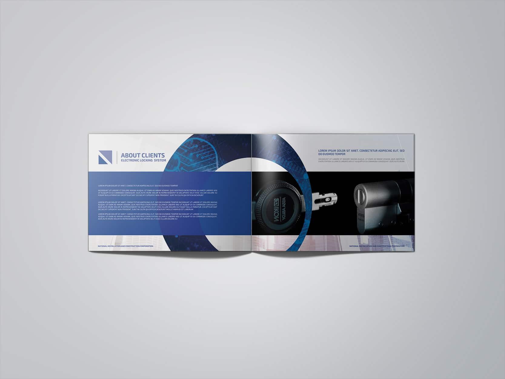 Thiết kế brochure công ty - doanh nghiệp