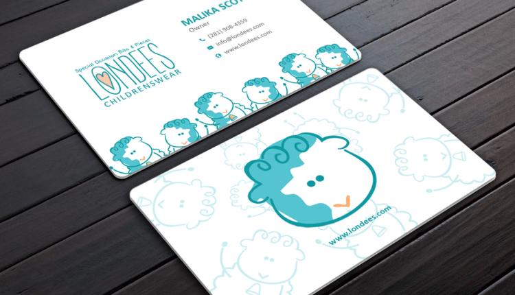 Thêm logo và các yếu tố đồ họa khác để card visit thêm ấn tượng