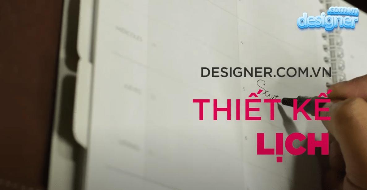 Quy trình thiết kế lịch tết, lịch để bàn từ chụp ảnh đến in ấn.