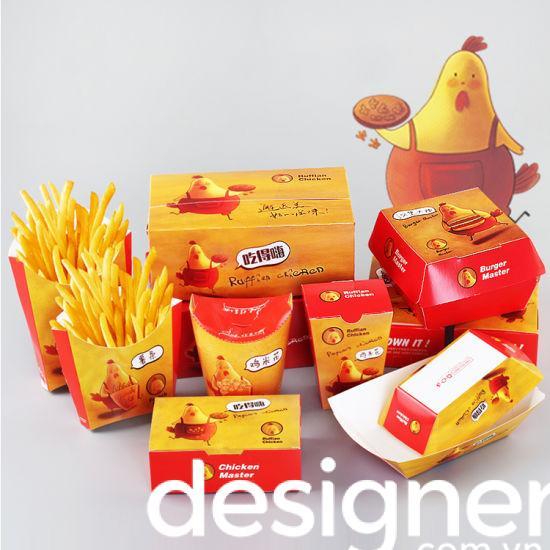 Top 3 phong cách thiết kế bao bì thức ăn nhanh