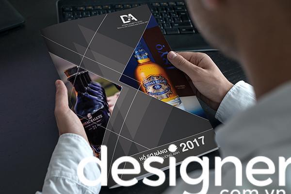 Thiết kế catalogue đen trắng đẹp và sang trọng