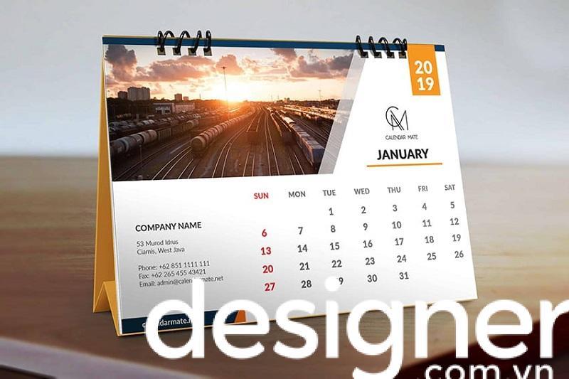 Giải pháp thiết kế catalogue lịch vạn niên độc đáo