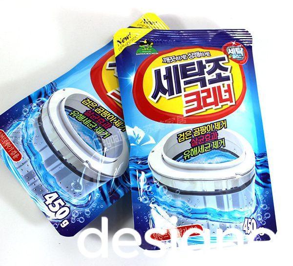 Top 4 phong cách thiết kế bao bì chất làm sạch máy giặt