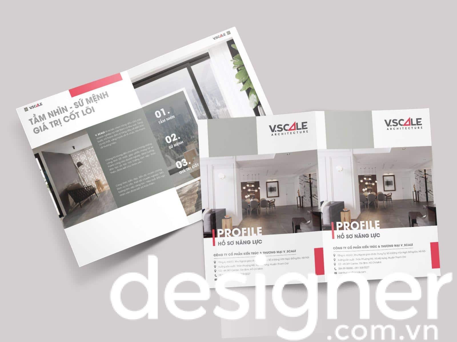 Top 4 phong cách thiết kế hồ sơ năng lực công ty nội thất