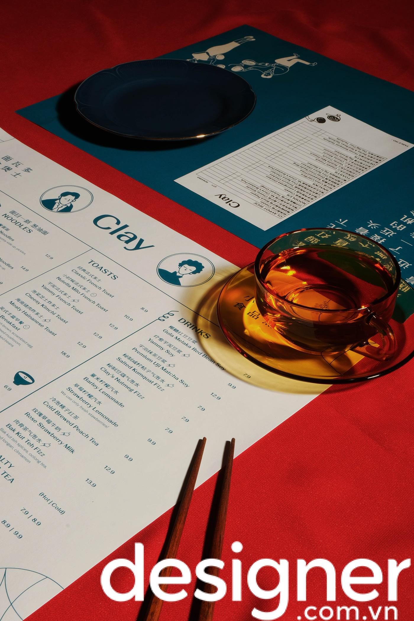 Top 5 phong cách thiết kế menu nhà hàng Hoa