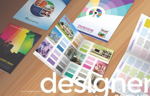 Thiết kế catalogue sơn ấn tượng và thu hút