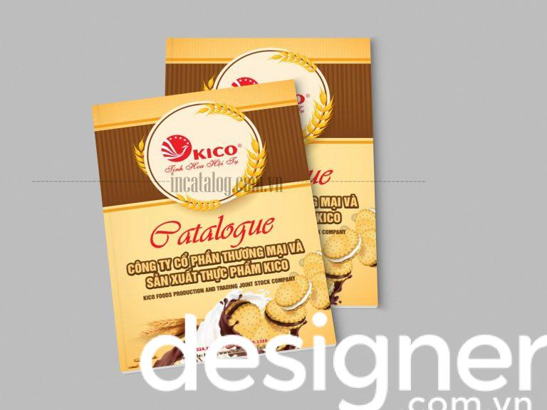 Thiết kế catalogue bánh kẹo, ăn vặt thu hút và ấn tượng