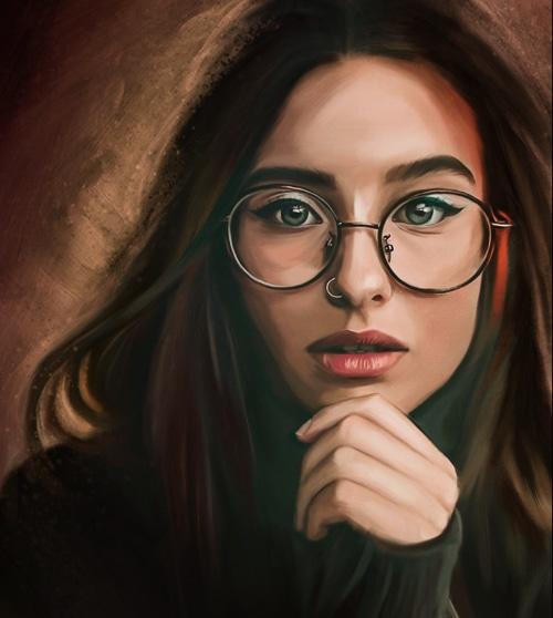 dich vu digital painting