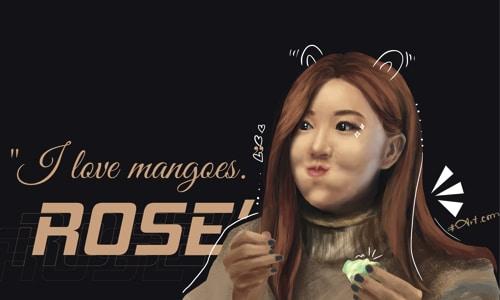 digital painting rose