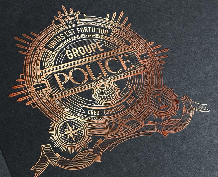 Top 15 phong cách thiết kế logo ngành công an