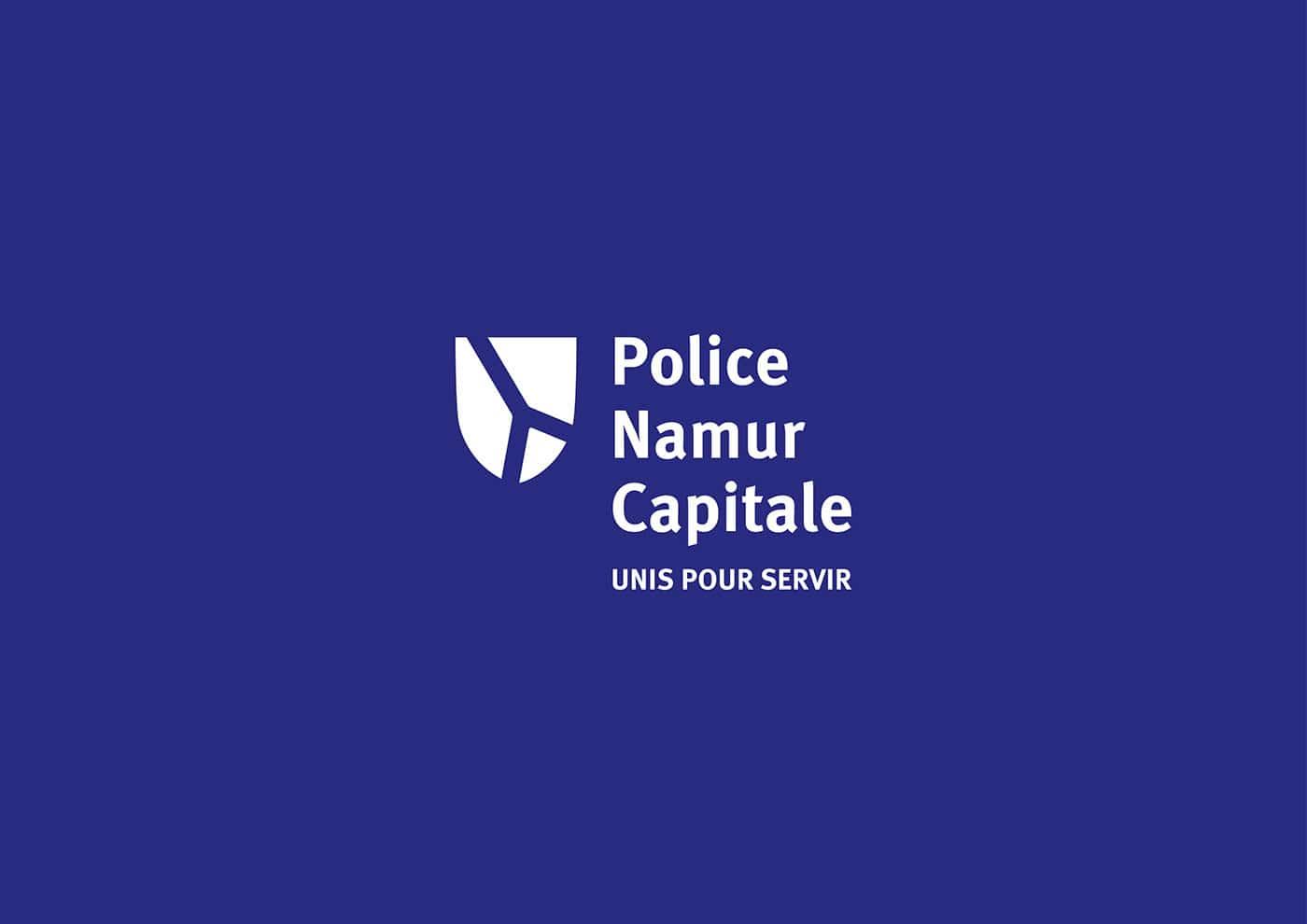 Logo cong an police namur capitale