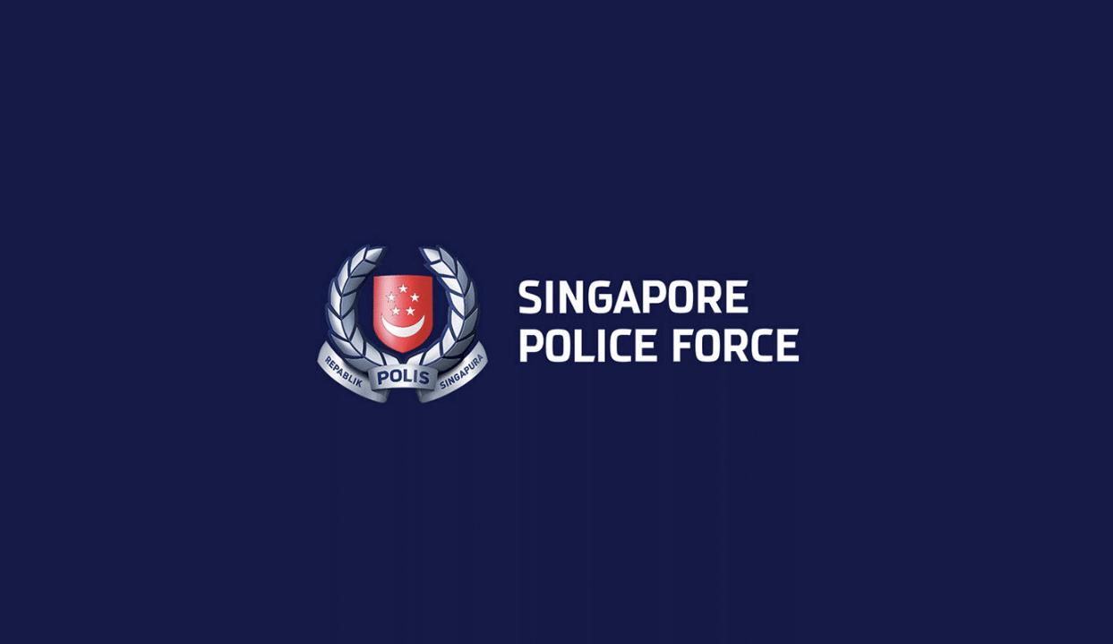 Logo nganh cong an singapore